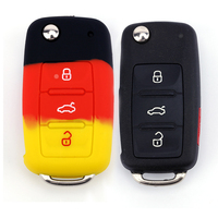 Factory Price 2019 smart remote control car key cover silicone swift car accessories