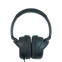 Business Class black stretching stereo music wired noise cancelling headset