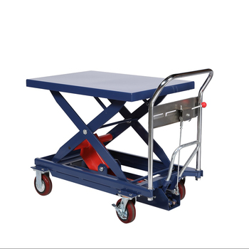 manufacturer best price material handling  hydraulic table lift cart 300KG