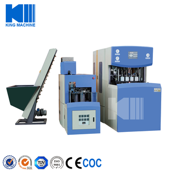 Semiautomatic Plastic Bottle Blowing Machine
