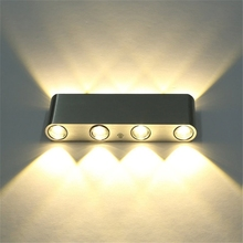 Wholesale drop shipping 6W Home Decoration Lighting Light hot sale warm white LED Wall Lamp