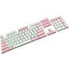 104 key backlit PBT keycaps with OEM profile for mechanical keyboard