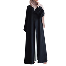 Arabic Style Plain Open <strong>Muslim</strong> <strong>Abaya</strong> Islamic Clothing Outfit Kimono <strong>Abaya</strong> <strong>Muslim</strong> Dresses Dubai <strong>Abaya</strong>