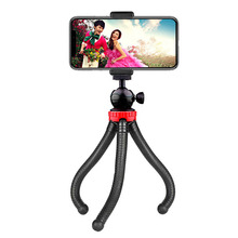 Portable And Adjustable Mini Flexible smartphone <strong>mobile</strong> Tripod Stand 1/4&quot; Ball head for Camera <strong>Mobile</strong> <strong>Phone</strong>