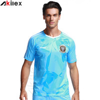 Hot selling oem new model football soccer shirts jersey with cheap price