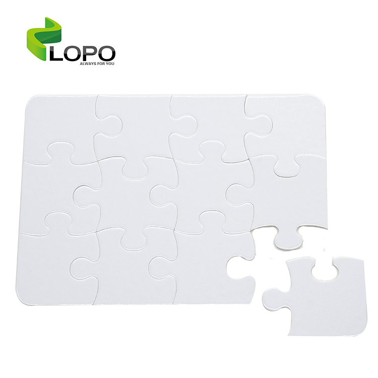 High Quality sublimation personalized magnetic puzzle