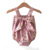 baby cute suspender floral rompers infant toddler lovely onsie jumpsuit bow romper