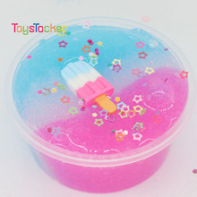 Wholesale Hot Sell Unicorn Colorful Crystal Putty For Stress Relief Popsi Crunchy Slime