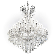 60 lights large modern crystal chandaliers lighting for hotel