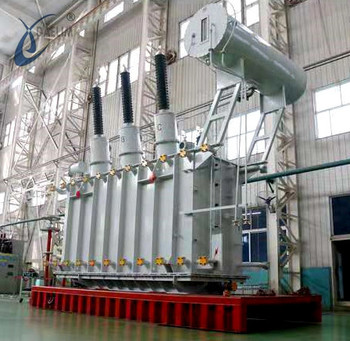 Oil immersed high voltage ISO & IEC 27 mva 120kv power transformer