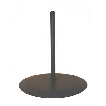 High Quality Powder Coated Round Steel Base Plate