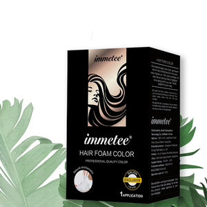 Factory Price Hair Color Dye Cream Permanent Coloring Shampoo Floral Foam Natural Products
