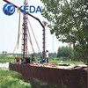 China Hydraulic Diesel Power Type River Jet Suction Dredger Machinery