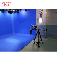 Photo video studio blue/ green screen collapsible chroma key background
