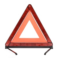 E-MARK roadway safety car warning reflector triangle auto red road traffic reflective triangle
