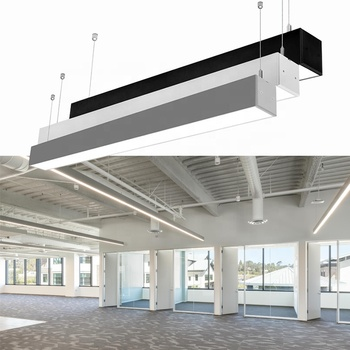 Seamless connection suspending led linear for office high quality