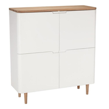 wooden cupboard with showcase designs 4-door