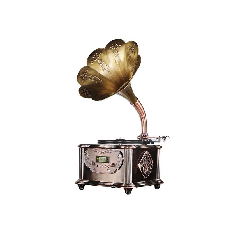 Haut de Gamme De Luxe Vintage Table En Métal Phonographe Gramophone - ANKUX Tech Co., Ltd
