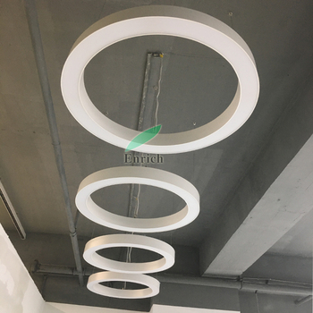 High Quality 1200mm LC6080 Round Ring Shape led Linear Light with 5 Years