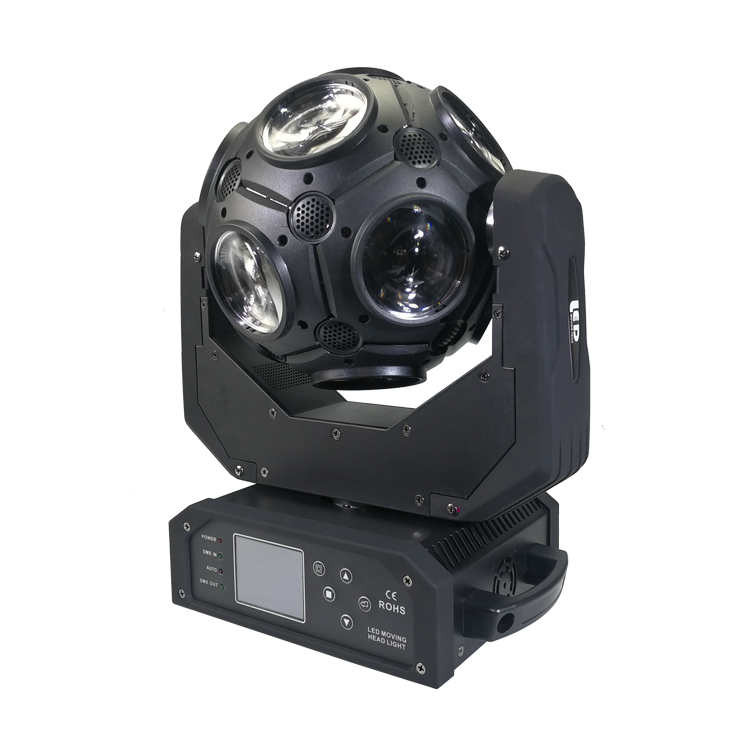 new design led disco 12x20w rgbw led <strong>beam</strong> football moving head light/led dj ball