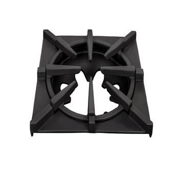 commerical kitchen cast iron  gas cooktop pan support