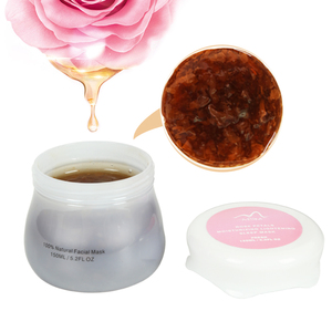 Private Label Natural Whitening Korean Rose Face Facial Mask