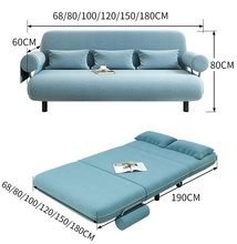 Folding Portable Mattress Washable Cover Sofa Bed Sofa For Living Room