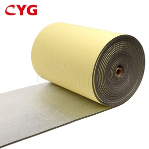 Backed Adhesive Aluminum Xpe Material Heat Insulation Foam For HVAC Duct