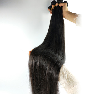 Wholesale 40 Inch remy Raw Indian Hair weave Grade 9A Virgin brazilian Vendors cuticle aligned hair bundles Human Hair Extension