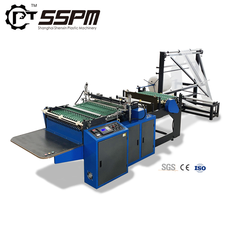 SSPM 2019 SGS CE ISO certificated originally designed two layer PE air bubble mailer bag making machine
