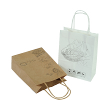 Recyclable hot sale printed food washable paper <strong>bag</strong>