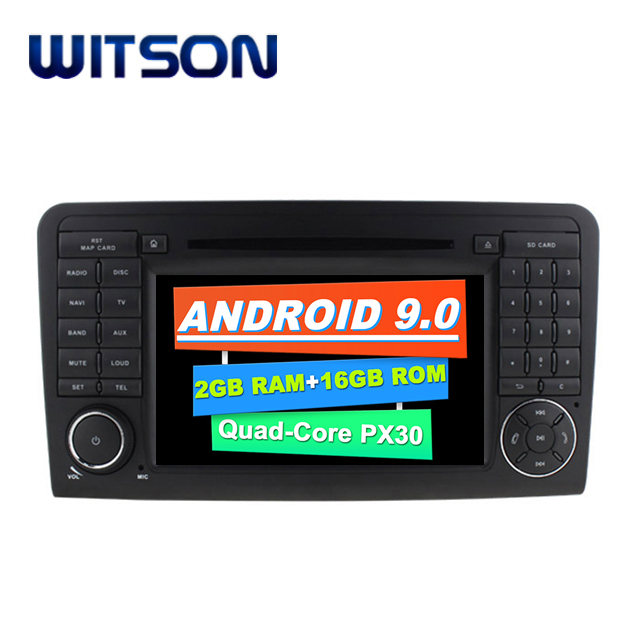 WITSON <strong>Android</strong> 9.0 Car Multimedia System For Mercedes-Benz ML GL Car Audio Video