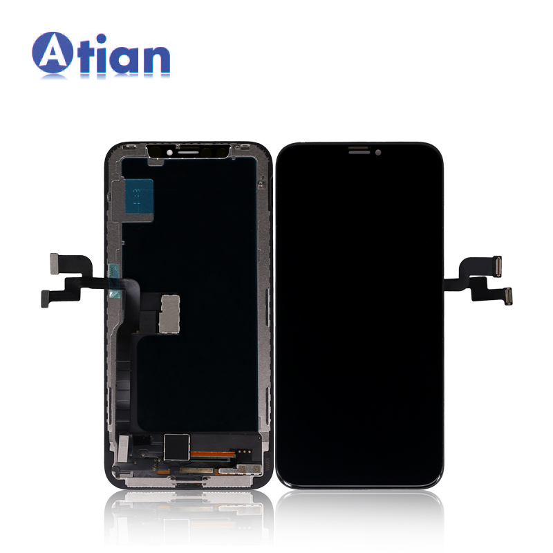 Spare Parts For <strong>iphone</strong> X LCD Display Touch Screen Digitizer Assembly OLED Mobile Phone Replacement