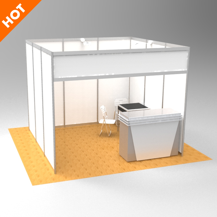 Exhibition Stand Advertising : High quality advertising standard modular wall shell scheme event