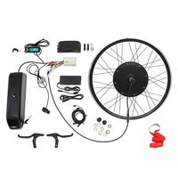 "48V 1000W 26"" Rear Wheel Electric Bicycle Motor Kit EBike Cycling Hub Conversion"