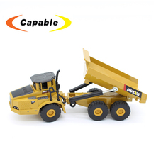 1/50 mini alloy dump trucks die cast car model engineering construction vehicle huina toys for kids