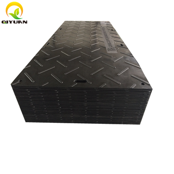 portable hdpe temporary ground protection road mats