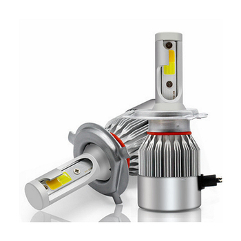 C6 Dual Color H4 H7 H13 H1 LED Headlight Bulb Kit 36W 3800LM 3500K 6000K H4 Bulb Led Headlight
