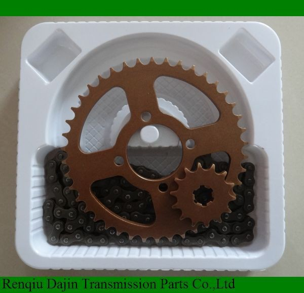 Dajin 1023 motorcycle part/motorcycle parts chain sprocket/motorcycle spare parts for honda