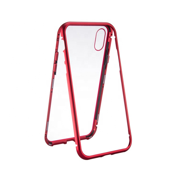 Ultra thin for iphone <strong>x</strong> <strong>10</strong> tempered glass phone case,for iphone 8 plus case covers,mobile phone shell for iphone 8 magnetic case
