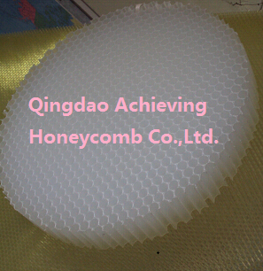 PP honeycomb panel of large size in plastic sheet for flooring system give strong surport