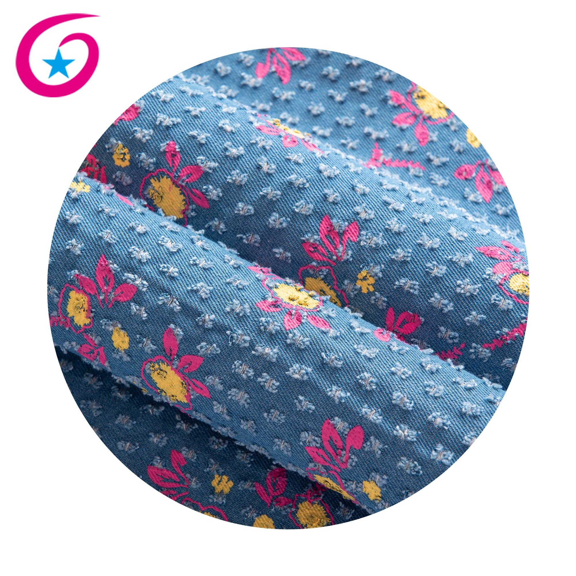 New design of denim fabric 10*10 ploy cotton punching duck