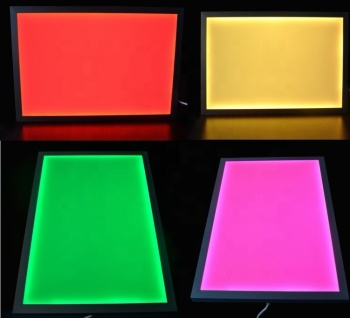 40x40 or custom size led panel light,led RGB panel with remote controller