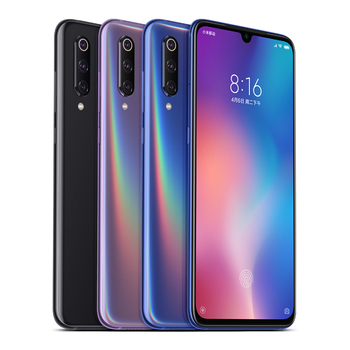 "Original New Arrival Xiaomi 9 Smart phone qualcomm snapdragon 855 MI 9 Mobile Phone 64/128GB 6.39"" Full Screen"
