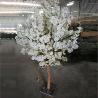 Artificial Wholesale Wedding Table Centerpieces Small Wooden Cherry Blossom Tree