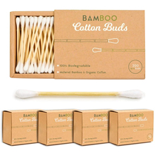Paper Bamboo stick cotton ear swab / bud with different size
