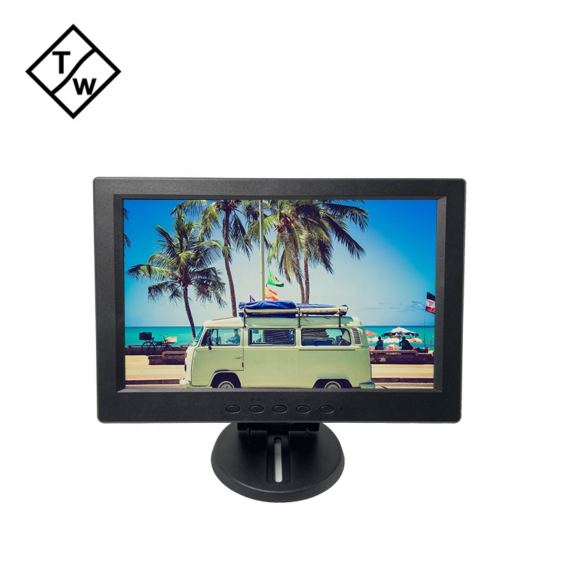 Hot Sale <strong>12</strong>'' 13'' 14'' TFT LED LCD Screen Monitor Support HD DVI USB CCTV BNC Optional