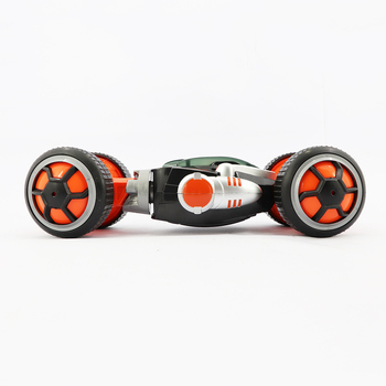 2.4G 4CH RC Double Sided Stunt Car With Light  Model Off Road Vehicle Toy