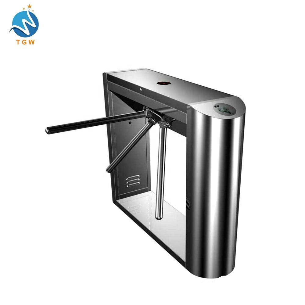 manufacture bus station security tripod turnstile smart control