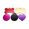 Metal Anodized Blank Aluminum Dog Tag